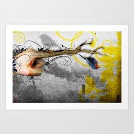 Ledge Art Print