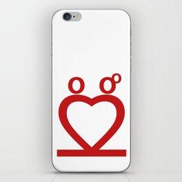 Two Love iPhone Skin