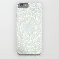 Powder Blue Mandala Slim Case iPhone 6s