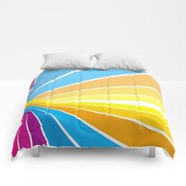 Stripes universe Comforters