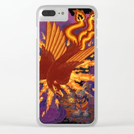 Th Phoenix and The Pilgrim Clear iPhone Case