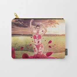 Flowers Queen Carry-All Pouch