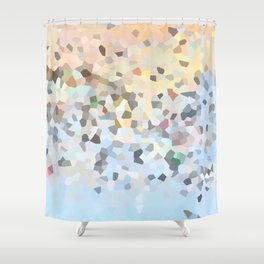 Carousel in Dissolve Shower Curtain