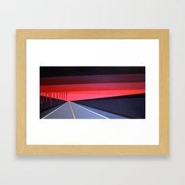 Highwayscape #9 Framed Art Print