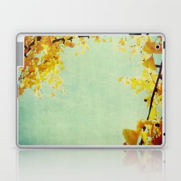 Gingko Branches Laptop & iPad Skin