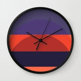 Spring- Pantone Warm color 05 Wall Clock