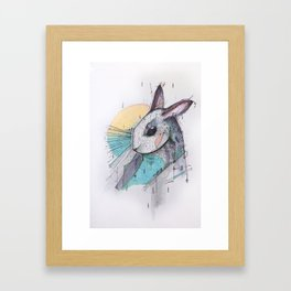 I´ VE JUST SEEN A FACE Framed Art Print