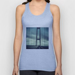 Great Belt Bridge Unisex Tank Top