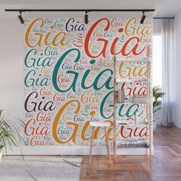 Gia Wall Mural