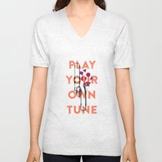 Play you own tune Unisex V-Neck
