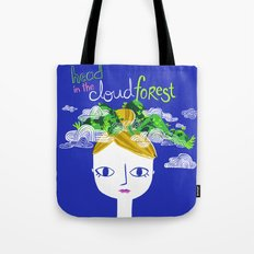 Head in the Cloud Forest Tote Bag