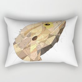 Beardie Rectangular Pillow