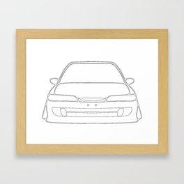 JDM #2 Framed Art Print