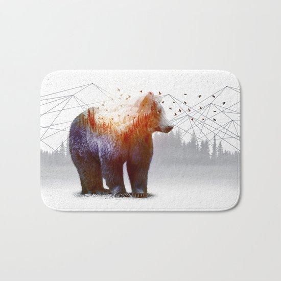A Wilderness Within / Bear Bath Mat