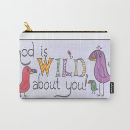 Wild About You-Birds Pouch Carry-All Pouch
