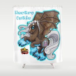 Electro Cutie Shower Curtain