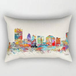toledo ohio skyline Rectangular Pillow