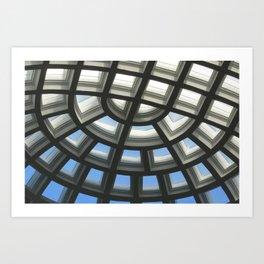 Skylights Art Print