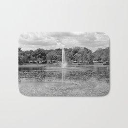 Fountain Lake Bath Mat