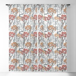 TREE CROWNS Sheer Curtain