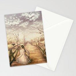 Hard to Walk Alone Stationery Cards