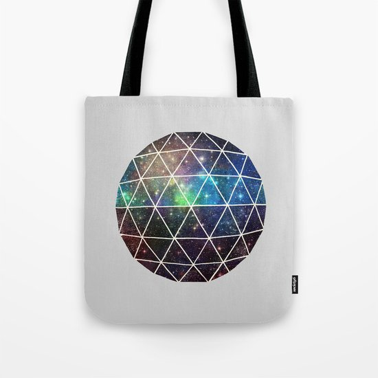 Space Geodesic Tote Bag