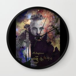 Ragnar in the Stars - Vikings Wall Clock