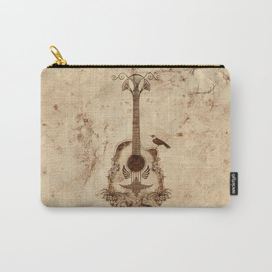 The Guitar's Song Carry-All Pouch