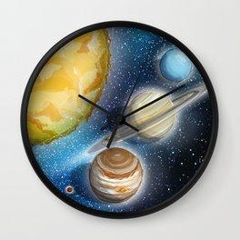 I Like Space Wall Clock