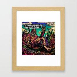 The Philosophy of Bigfoot Framed Art Print