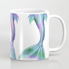 Pastel Mermaid Tails (Color) Coffee Mug