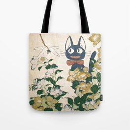 Jiji from Kiki's delivery service vintage japanese mashup Tote Bag