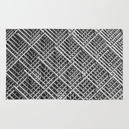 Grid wire mesh stainless rods Rug