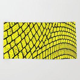 Yellow Brick Road Beach Towel