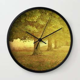 In a Line Wall Clock