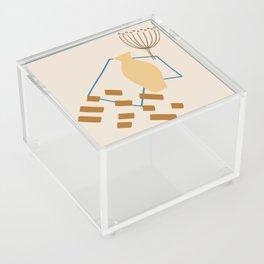 Vase Minimalist Abstract Acrylic Box