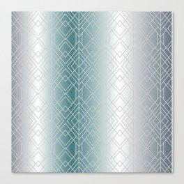 Silver Decor Canvas Print