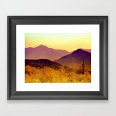 Painted Desert Framed Art Print