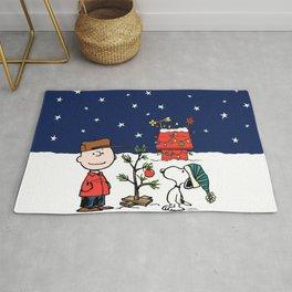 Movie A Charlie Brown Christmas Peanuts Snoopy Cha Rug