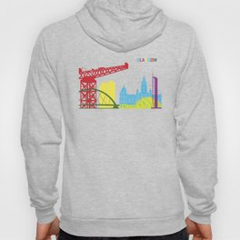 Glasgow skyline pop Hoody