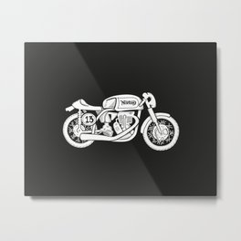 Norton Model 30 - Cafe Racer series #2 Metal Print
