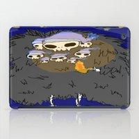 dark souls iPad Cases featuring Dark Souls- Goodnight Nito by Mango Mamacita