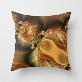 Splitting Cells Throw Pillow