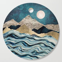 Indigo Sea Cutting Board