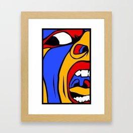 Screamer Framed Art Print