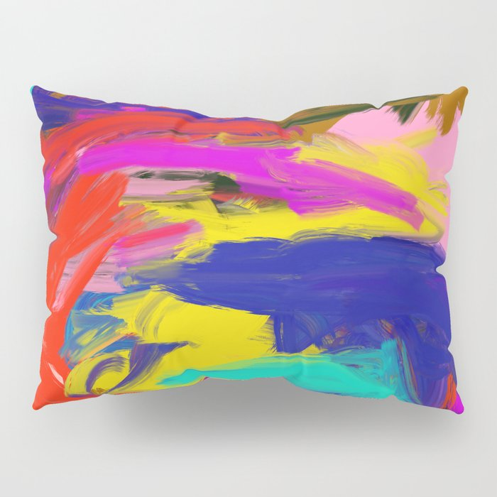 Rainbow Abstract II Pillow Sham