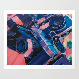 Temperature Art Print