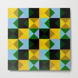 timeless geometrical Ojancanu Metal Print