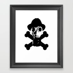 Man in the Mask Framed Art Print