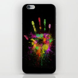 Artist Hand iPhone Skin